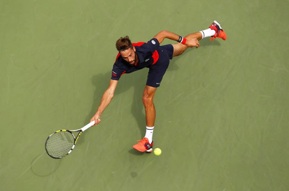 Benoit Paire w nowych butach Babolat Propulse FURY podczas US Open 2016