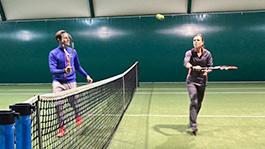 Rozgrzewka do tenisa na ma³e kara