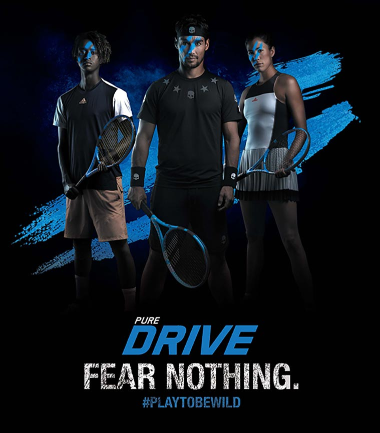 Babolat Pure Drive - #FEARNOTHING