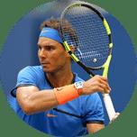 Rozpoznawalni zawodnicy: Rafa Nadal, Dominik Thiem